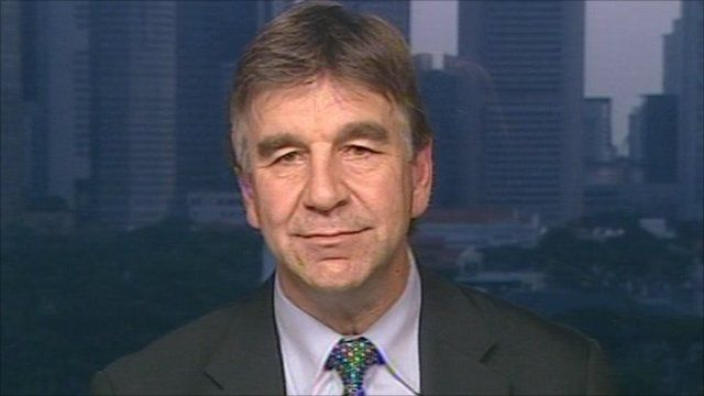 Icann's senior vice president, Kurt Pritz