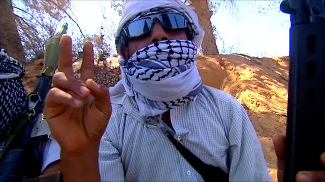 Misrata rebel