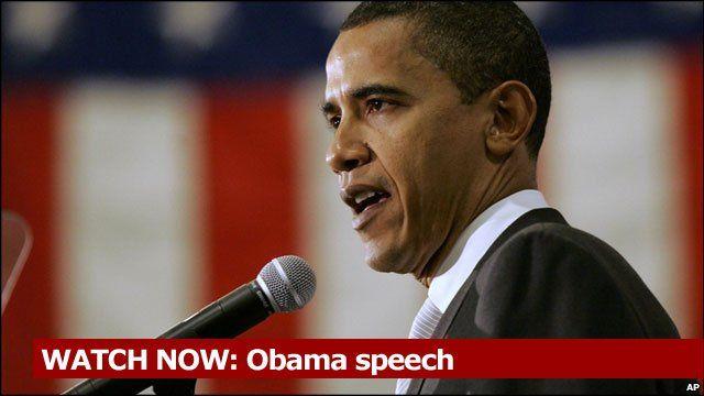 WATCH NOW: Obama speech