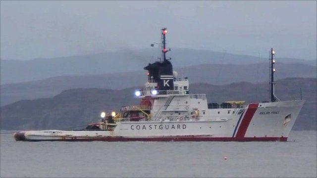 Coastguard boat