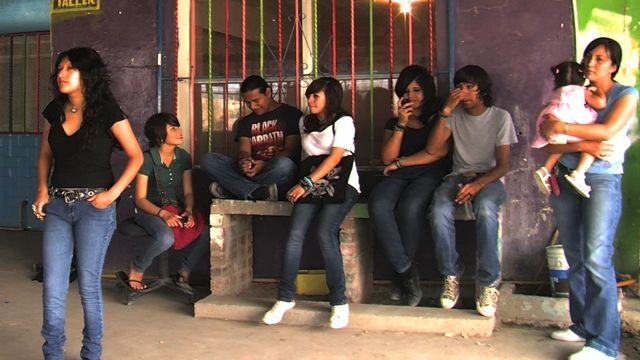 Inside a Juarez youth club