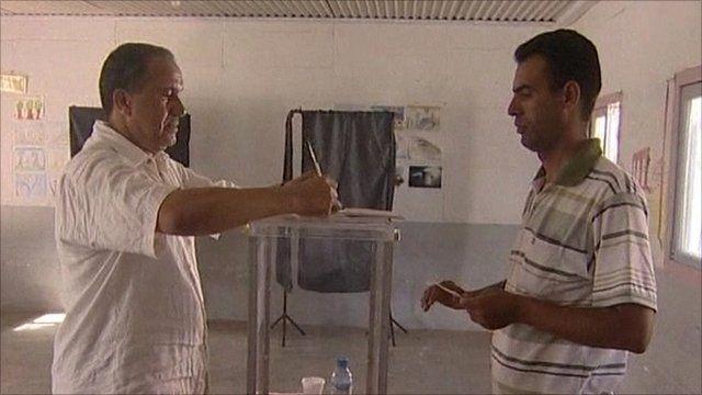 Moroccan voting in referendum