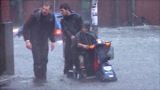 Flooding in Copenhagen