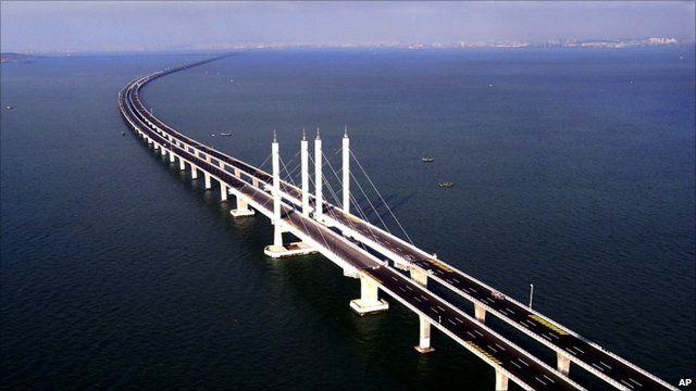 Jiaozhou bridge