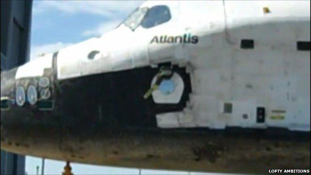 The Atlantis shuttle