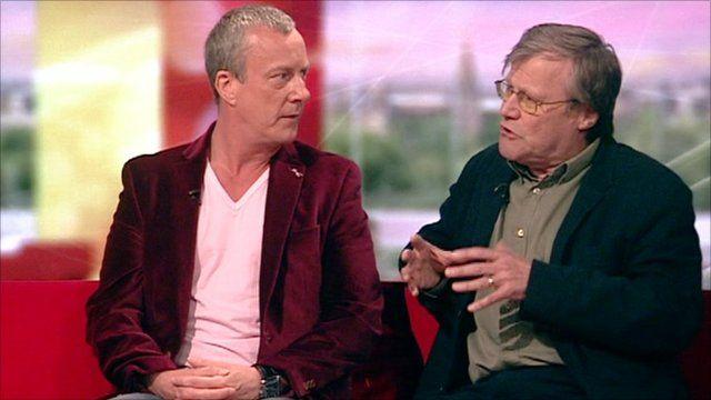 Stephen Tompkinson and David Neilson