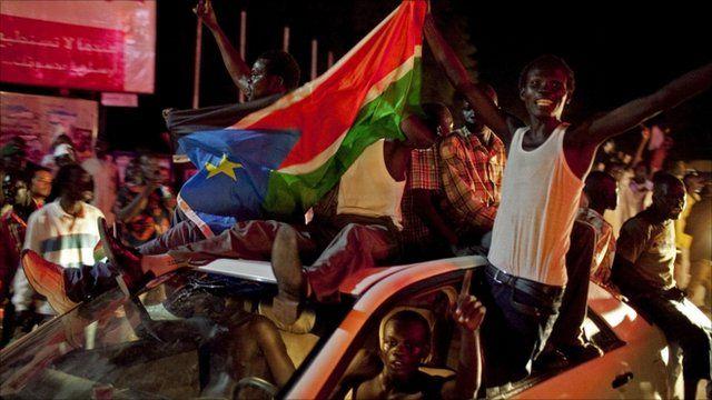 Celebrations in South Sudan