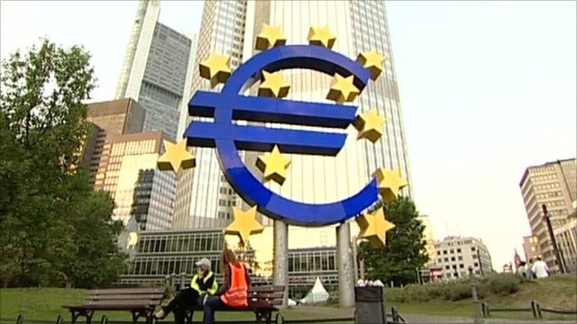 European Central Bank in Germany