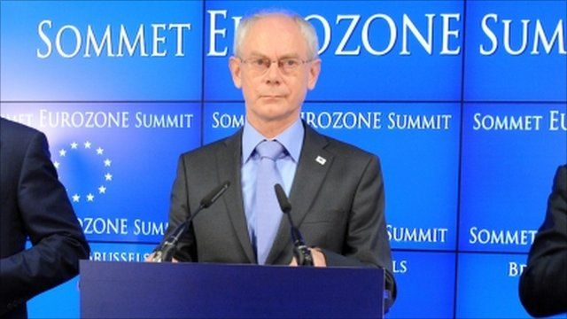 European Council president Herman Van Rompuy