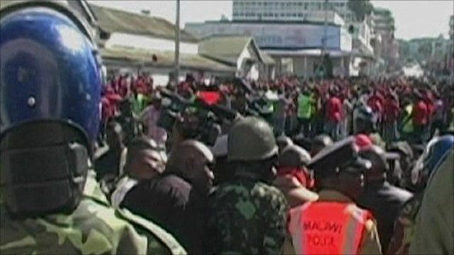 Protests in Malawi
