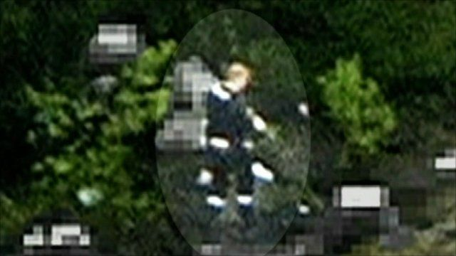 First images of gunman on island