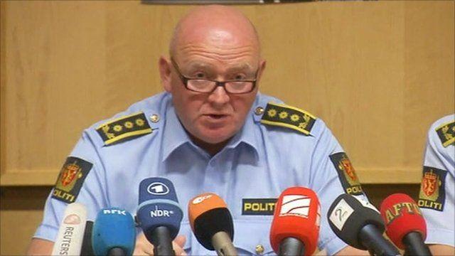 Police Chief of Staff Johan Fredriksen