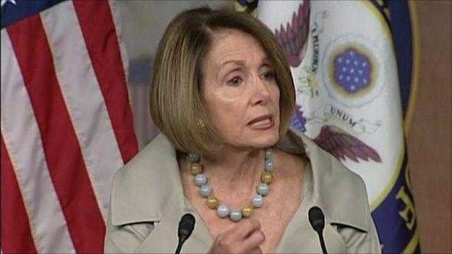 Nancy Pelosi, House Democrat leader