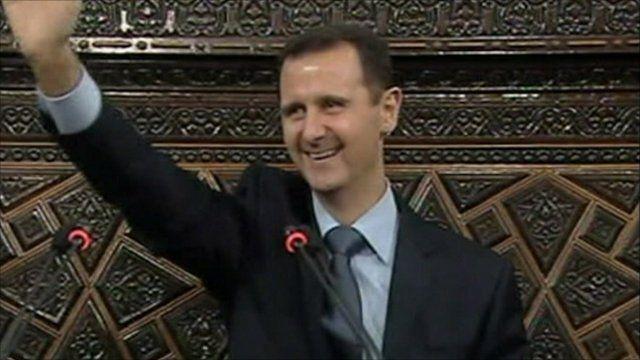 Syria's President Bashar al Assad
