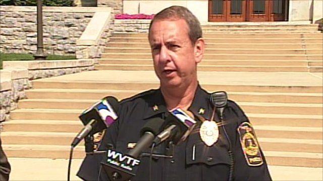 Virginia Tech Police Chief Wendell Flinchum