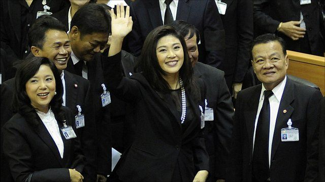 "Thailand""s new Prime Minister Yingluck Shinawatra"