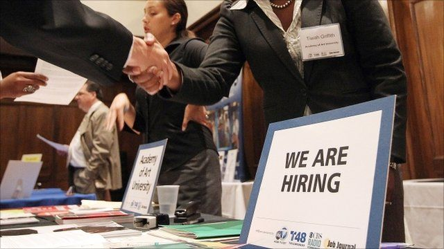 US recruitment fair in in San Francisco, California