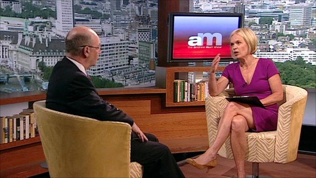 Alistair Burt and Mariella Frostrup on The Andrew Marr Show