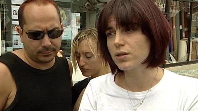 Onelia Giarratano (far right)