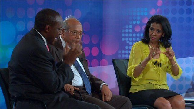 BBC World Debate in Vienna