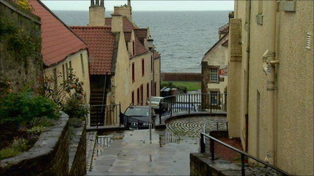 West Wemyss village