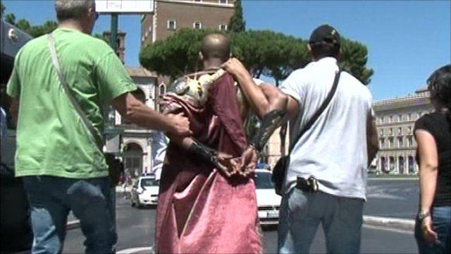 Police make an arrest