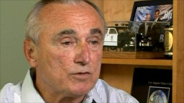 Former police chief of New York and Los Angeles, Bill Bratton