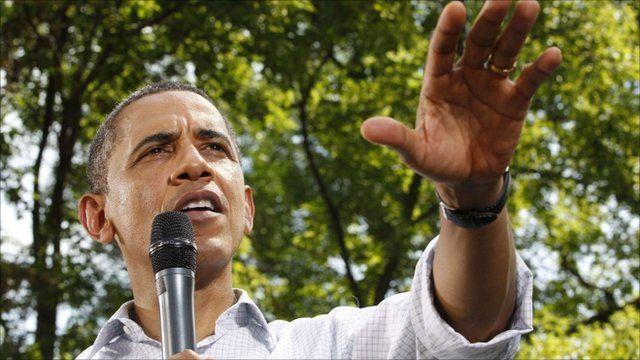 President Barack Obama in Minnesota