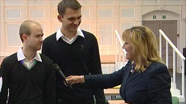 Colette Hume interviews A-Level students