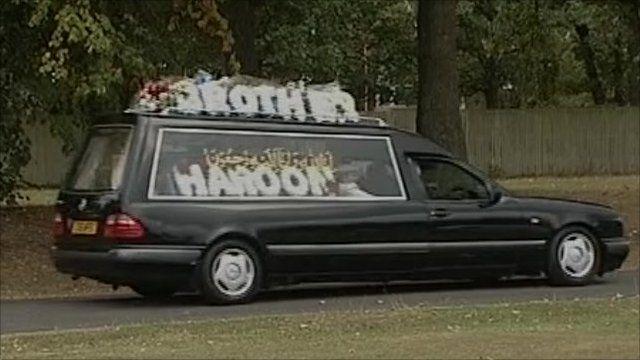 Funerals of Haroon Jahan, Shazad Ali and Abdul Musavir