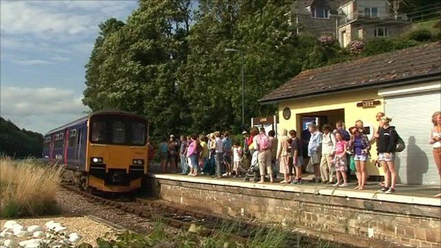 Rural Railway in the South of England