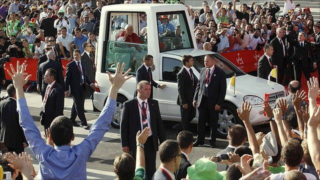 The Pope in Madrid