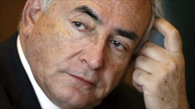 Former IMF Managing Director Dominique Strauss-Kahn