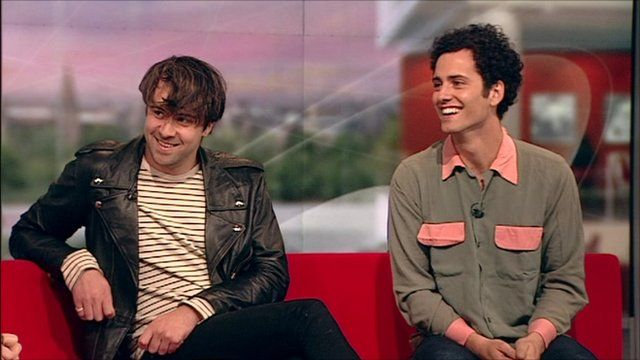 Justin and Freddie of The Vaccines