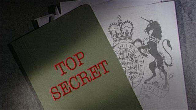 'Top secret' generic image
