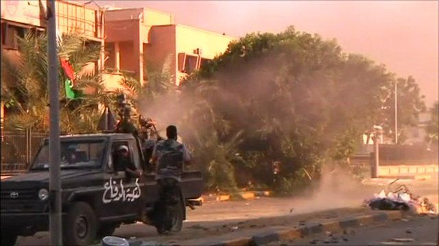 Fighting continues in Libya