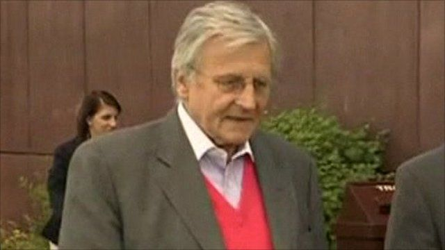President of the European Central Bank Jean-Claude Trichet