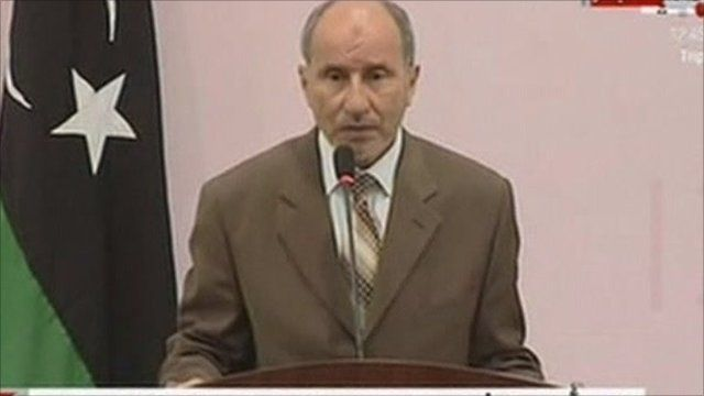 Chairman of the National Transitional Council Mustafa Abdul-Jalil