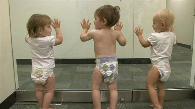 Babies with designer diapers
