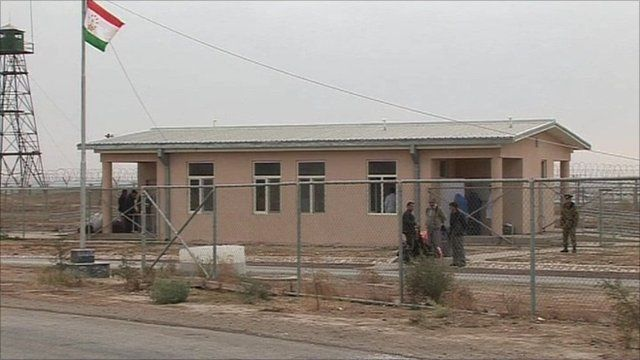 Afghan-Tajic border
