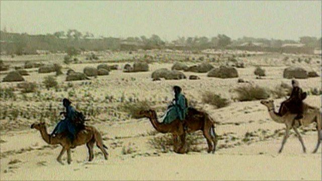 Tuareg tribesmen in Niger
