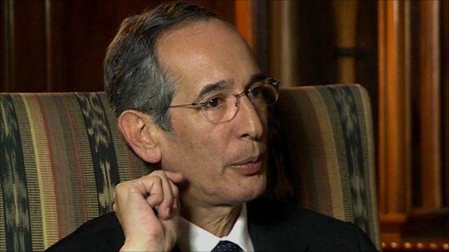 Guatemala President Alvaro Colom