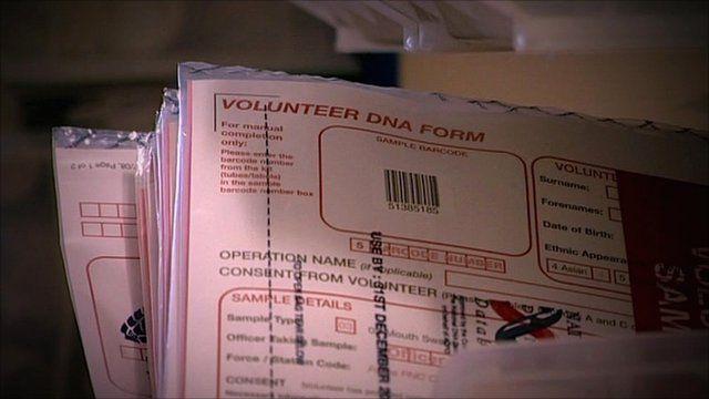 Blank Volunteer DNA Form