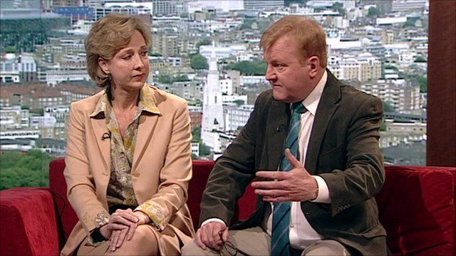 Newspaper review with Colleen Graffy and Charles Kennedy