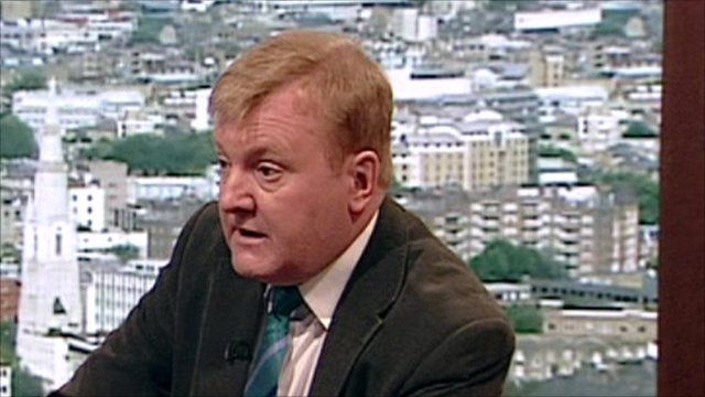 Charles Kennedy on the Andrew Marr Show