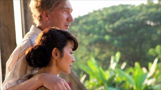 Michelle Yeoh as Aung San Suu Kyi