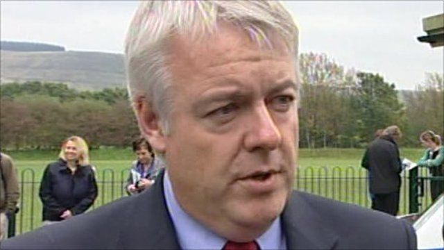 First Minister of Wales Carwyn Jones