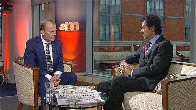 Imran Khan on The Andrew Marr Show