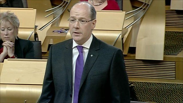 Scottish Finance Secretary John Swinney