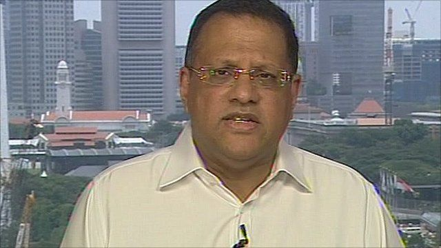 Arjuna Mahendran, Chief Asia Strategist at HSBC Private Bank